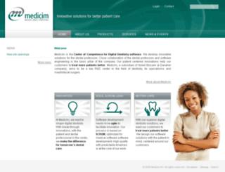 medicim.com screenshot
