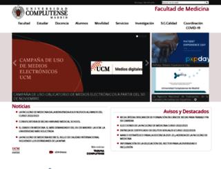 medicina.ucm.es screenshot