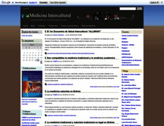 medicinaintercultural.org screenshot