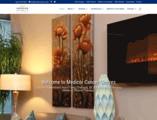 medicorcancer.com screenshot