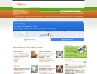 mediculmeu.com screenshot