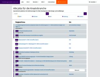 mediengestalter-jobs.de screenshot