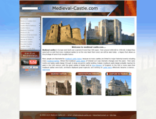 medieval-castle.com screenshot