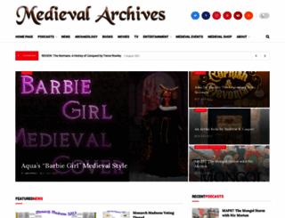 medievalarchives.com screenshot