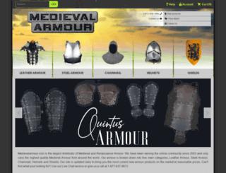 medievalarmour.com screenshot