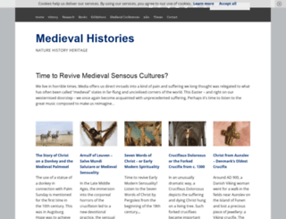 medievalhistories.com screenshot