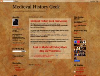 medievalhistorygeek.blogspot.com screenshot