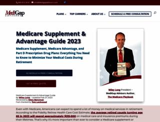 medigapadvisors.com screenshot