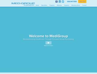 medigroup.com screenshot