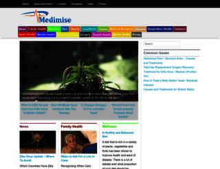 medimise.com screenshot