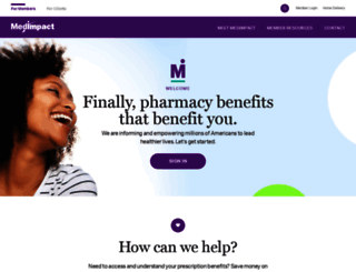 medimpact.com screenshot