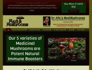 medimushrooms.com screenshot
