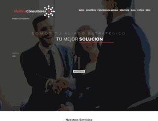 medinaconsultores.mx screenshot