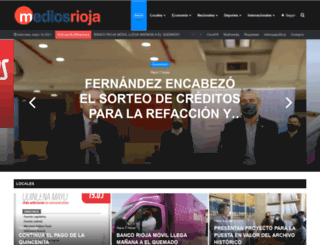 mediosrioja.com.ar screenshot