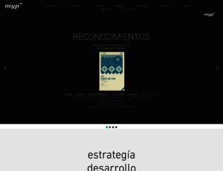 mediosyproyectos.com screenshot