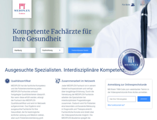 mediplex-hamburg.com screenshot