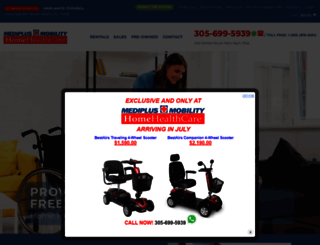 mediplusmobility.com screenshot