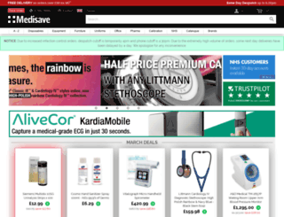 medisave.co.uk screenshot