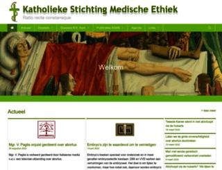 medische-ethiek.nl screenshot