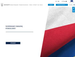 medisept.pl screenshot