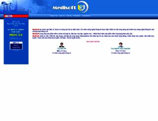 medisoft.com.vn screenshot