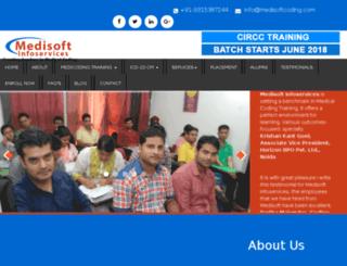 medisoftcoding.com screenshot