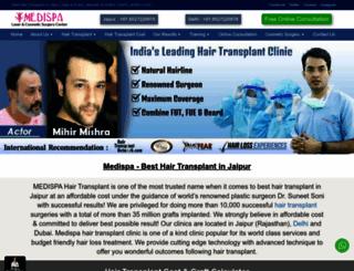 medispaindia.in screenshot