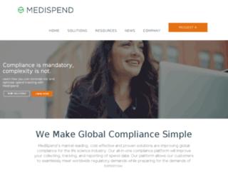 medispend.hideseekmedia.com screenshot