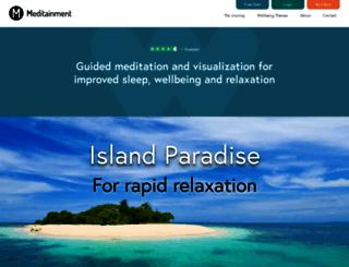 meditainment.com screenshot
