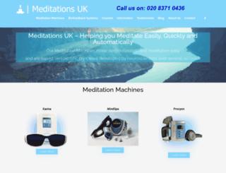 meditationsuk.com screenshot