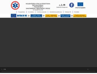 meditrans.waw.pl screenshot