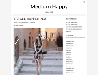mediumhappy.com screenshot