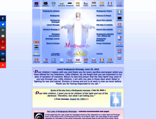 medjugorje.ws screenshot