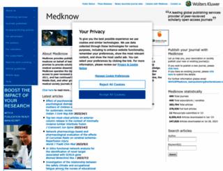 medknow.com screenshot