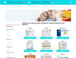 medmol.es screenshot