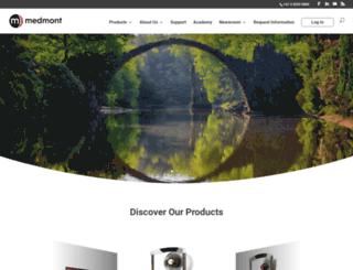 medmont.com screenshot
