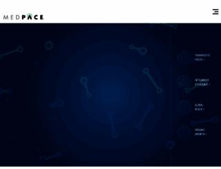 medpace.com screenshot