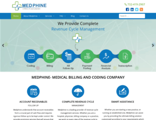medphine.com screenshot