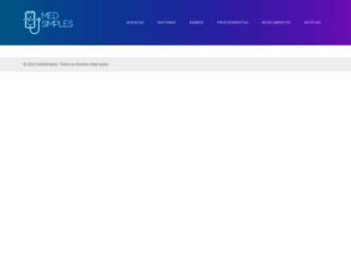 medsimples.com screenshot
