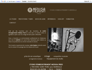 medusaprod.com screenshot