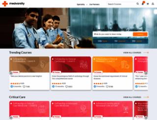 medvarsity.com screenshot