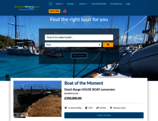 medway.boatshed.com screenshot