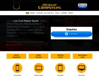 medwaycomputers.co.uk screenshot