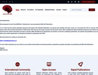 medwelljournals.com screenshot
