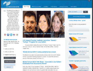 medyadernegi.org screenshot