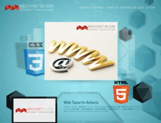 medyanetbilisim.com screenshot