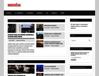 medzicas.sk screenshot