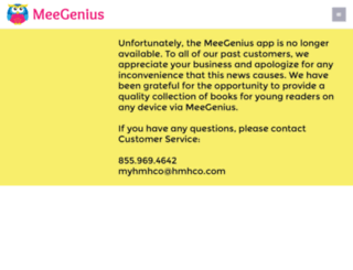 meegenius.com screenshot
