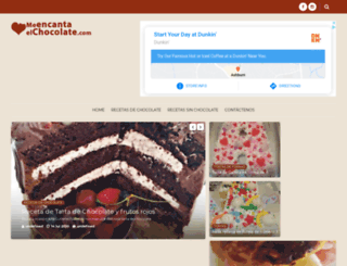 meencantaelchocolate.com screenshot