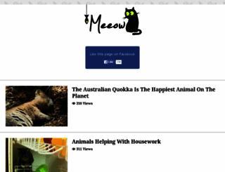 meeow.me screenshot